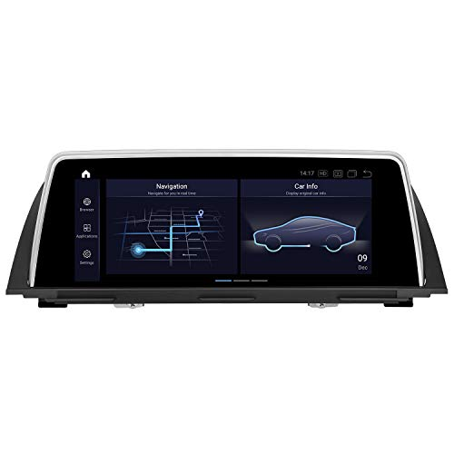 PEMP 2021 Vertical Screen Style Android 10 car Stereo 10.25 inchs IPS Touch Screen Qualcomm 8core 4GB RAM 64GB ROM Carplay Head Unit for BMW F10 F11(2012-2017) NBT