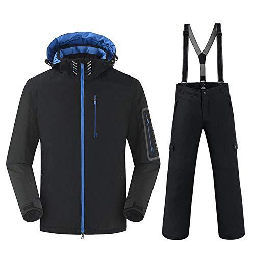 AXIANNV Traje de esquí de Invierno para Hombres, Trajes de Snowboard cálidos...