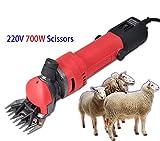 700W Elektrische Scherzubehör Clipper Shear Schaf Ziegen Alpaka Haarschneider Schere Für Wolle...