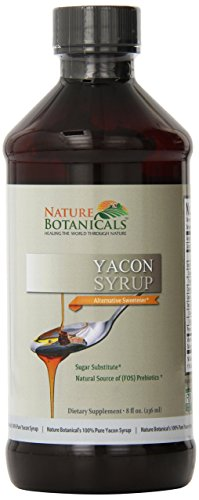 Nature Botanical Farms 100% Pure Yacon Syrup, All Natural Sugar Substitute,...