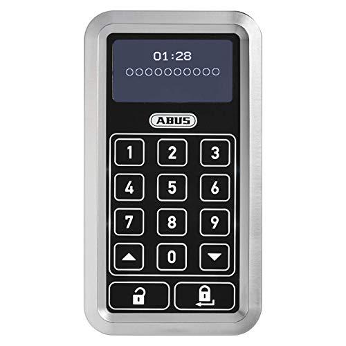 ABUS HomeTec Pro Funk-Tastatur CFT3000 - Code-Tastatur zum Öffnen der Haustür - für den HomeTec Pro Funk-Türschlossantrieb - Silber - 10126