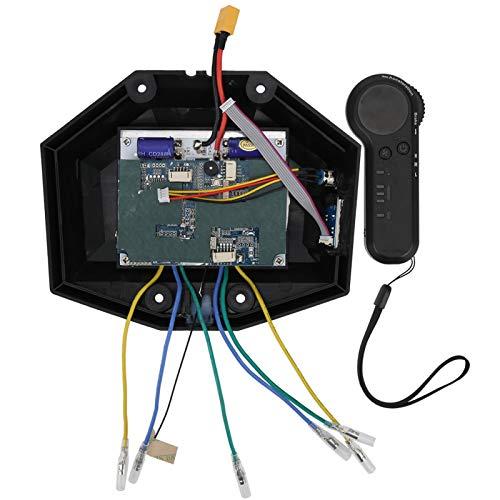 Demeras Controlador de monopatín eléctrico de Cuatro Ruedas Controlador de Doble tracción...