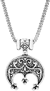 Collier de protection /à hame/çon viking gothique pentagramme /étoile dragon loup pendentif cha/îne pour femme homme gar/çon