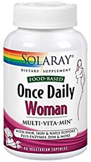 FoodBased Multivitamin for Women Once Daily (90 Vegetarian Capsules)
