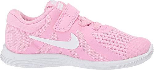 Nike Revolution 4 (TDV), Zapatillas de Atletismo para Niños, Multicolor (Pink Rise/White/Pink Foam/Black 603), 25 EU