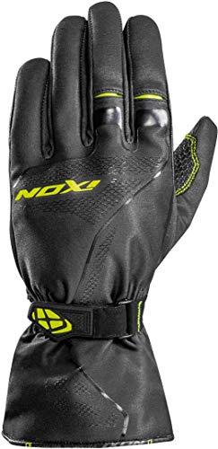 Ixon Pro Indy - Guantes de moto (talla L), color gris y amarillo