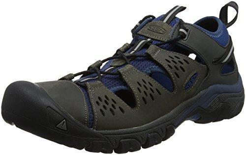 KEEN Arroyo III, Stivali da Escursionismo Uomo, Marrone Empire/Blue Opal, 45 EU