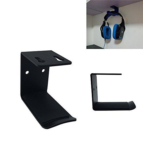 MeetRade, hoofdtelefoonhanger voor op het bureau, wandsticker als hoofdtelefoon-wandhouder voor thuiskantoor