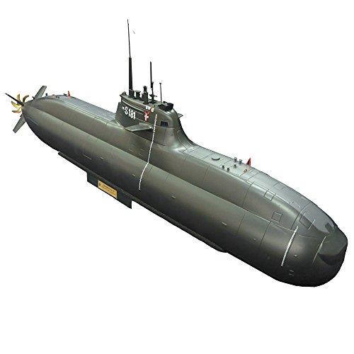 HOOBEN ARKMODEL 1:48 Deutschland U31 212A TYP AIP U-Boot Kit Zusammengebaute Plastikmodelle KIT Submarine[C7615K]