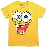 Spongebob Squarepants I Am Spongebob Adult Costume T-Shirt, Yellow, Size Large