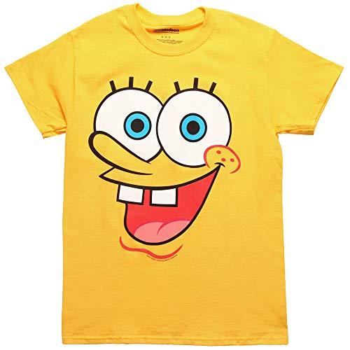 Spongebob Schwammkopf I Am Spongebob Erwachsenenkostüm T-Shirt - Gelb - Klein