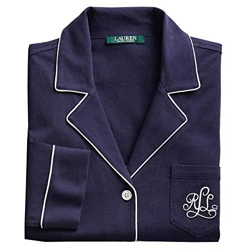 Ralph Lauren I811950 - Camisón con botones azul marino L