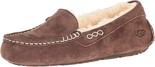 UGG Women's Ansley Moccasin, Chocolate, 8
