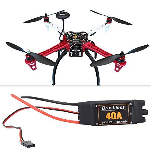 RC ESC, 40A RC Drohne ESC Elektrische Drehzahlregler für F450 / S500 RC Quadcopter Drohne