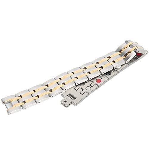 Pulsera magnética Joyería para el cuidado de la salud Accesorios Terapia Cadena de mano Joyería para el cuidado de la salud Pulsera Magnética para artritis para regalo para hombres para la