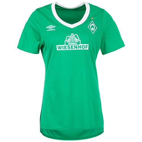 UMBRO SV Werder Bremen Trikot Home 2019/2020 Damen grün/weiß, XS