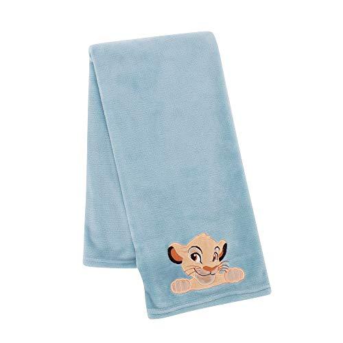 Lambs & Ivy Lion King Adventure Baby Blanket, Blue