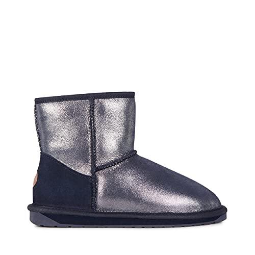 EMU Australia Womens Stinger Metallic Mini Winter Real Sheepskin Boots