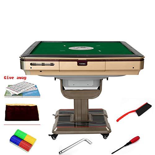 CHuangQi Automatisches Schachtisch Haushaltsklapptisch Mute Mahjong Tischmaschine