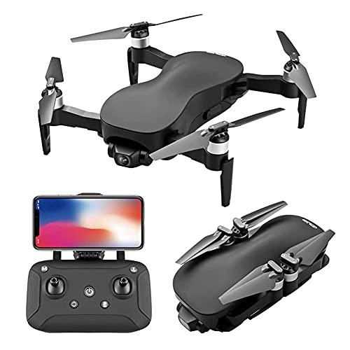 Drone Posizionamento del flusso ottico Quadricottero RC con videocamera HD 4K, modalità senza testa mantenimento dell'altitudine, Droni FPV pieghevoli Wifi Live Video 3D Flip 6Axis RTF Easy Fly Stea