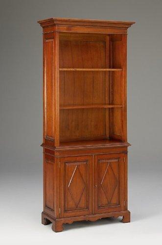 Antike Fundgrube Bücherregal Regal Mahagoni hochwertig Schrank Bücherschrank DIN A4 (493)