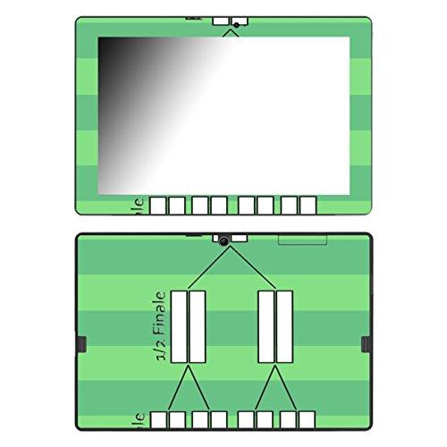 Disagu Design Skin für Trekstor SurfTab wintron 10.1 Design Folie - Motiv Spielplan 2014