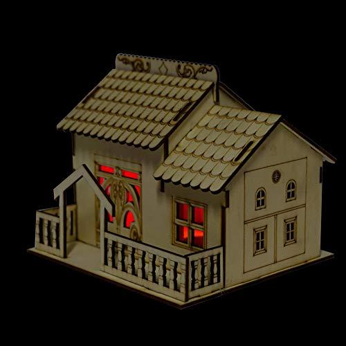 Villa Dinheiro, Caixa de Armazenamento de Dinheiro, Miniatura com Móveis para Crianças e Amigos Casa (2)
