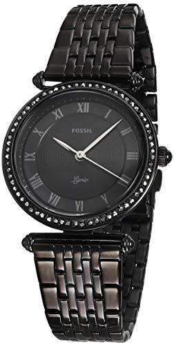 Fossil Women's Lyric ES4713 Black Stainless-Steel Quartz Dress Watch