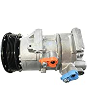 471-1622 Aire Acondicionado Compresor - SINOCMP 4PK AC Compresor para Toyota Yaris 1.5L 2007-2013 Denso 5SE11C, 3 Meses de garantía