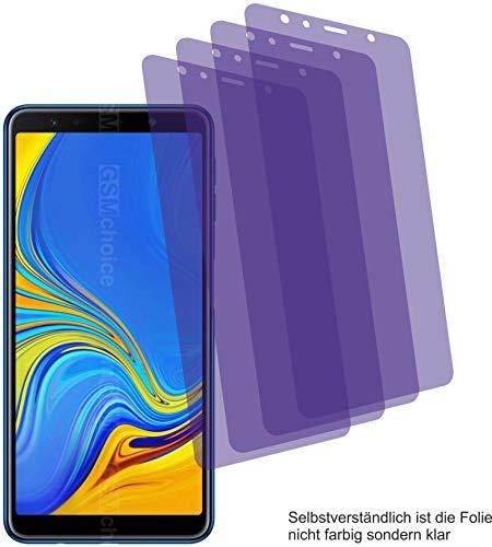 4ProTec I 4X ANTIREFLEX matt Schutzfolie für Samsung Galaxy A7 2018 Bildschirmschutzfolie Displayschutzfolie Schutzhülle Bildschirmschutz Bildschirmfolie Folie