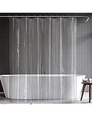 シャワーカーテン 透明 PEVA