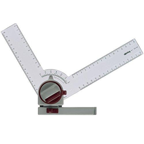Rotring S0213830 - Regla para dibujo técnico, blanco