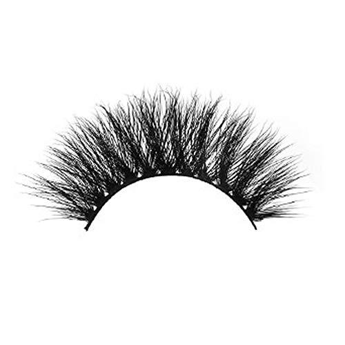 1 Par 3D gruesas pestañas falsas Cruz Profesional pestañas Extensiones naturales blandos Ojos Pestañas delicadeza maquillaje de ojos accesorios para la mujer Las niñas
