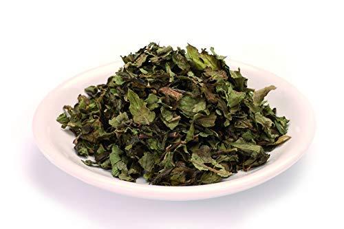 Bio Premium Pfefferminzblätter ganz 1kg Spitzenqualität Pfefferminztee, Pfefferminze Blätter Tee, roh, schatten getrocknet, ohne Zusätze, Gourmet Gewürz 1000g