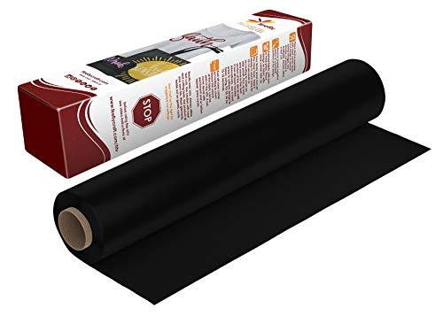 Firefly Craft Vinilo de transferencia de calor para silueta y cricut, rollo de 12.5 pulgadas por 5 pies