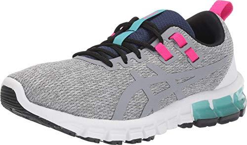 ASICS Women's Gel-Quantum 90 Running Shoes, 9.5M, Piedmont Grey/Sheet Rock
