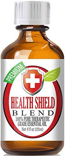 Health Shield Blend Essential Oil - 100% Pure Therapeutic Grade Health Shield Blend Oil - 120ml
