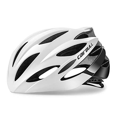 Sponsi para CAIRBULL Cascos de bicicleta para hombres y mujeres Lo último en peso ligero Casco de montaña para adultos Adulto Negro Rojo Blanco Azul Sombrero Cubierta de la cabeza