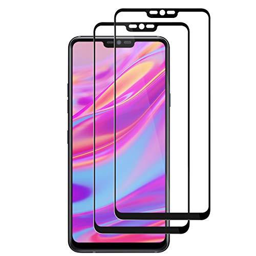 FANYAN LG G7 ThinQ Panzerglas Schutzfolie, [Full Screen] [9H Festigkeit] [Ultra-klar] [Anti-Kratzen] Bildschirmschutzfolie für LG G7 ThinQ【2 Stück】