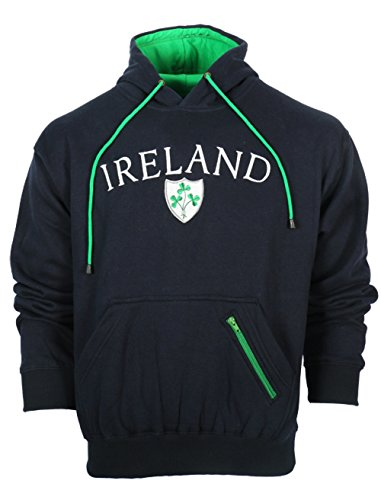 Malham Ireland Shamrock Hooded Sweatshirt (XL)