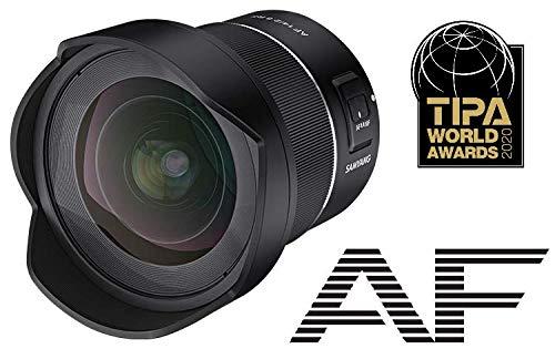Samyang AF 14mm F2.8 Canon RF - Enfoque automático de Gran Angular con Distancia Focal de 14 mm y Soporte RF para cámaras Canon EOS R y EOS RP de Formato Completo, Negro