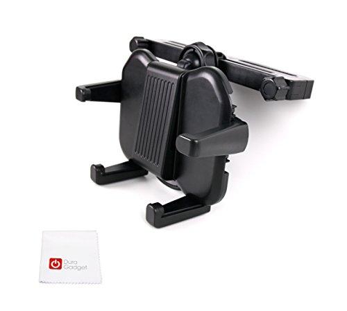 DURAGADGET Kfz Kopfstützen Halterung & Tuch für Kinder, Lern- und Baby Tablets/Laptop/PC/Tablet/Smartphone/Handy / MP3 Player
