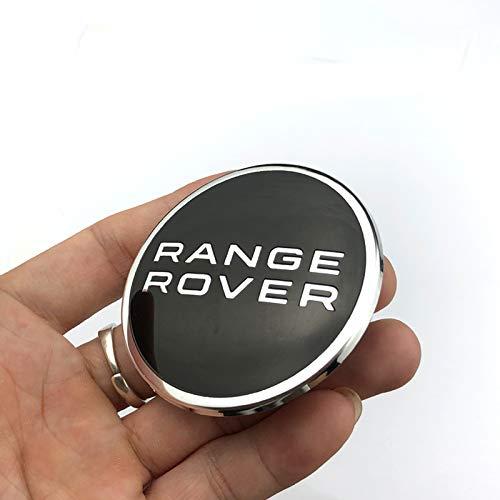 WYYYFA 20 STÜCKE 62mm Auto-Styling Radmitte Kappe Nabe Felge Auto Logo Emblem Abzeichen Autoplanen, Für Land Rover Range Rover Evoque Discovery
