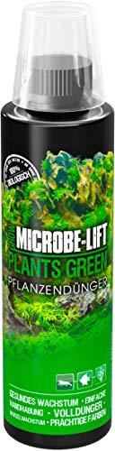 MICROBE-LIFT Plants Green - Abono para Plantas, Abono Completo Semanal con Todos los Oligoelementos y Vitaminas Importantes, para Plantas de Acuario Magníficas y Sanas