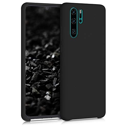 kwmobile Cover Compatibile con Huawei P30 PRO - Cover Custodia in Silicone TPU - Back Case Protezione Cellulare Nero