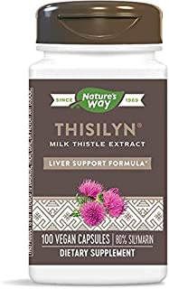 Nature's Way Thisilyn Standardardized Milk Thistle Extract, 80% Silymarin, Pack of 3
