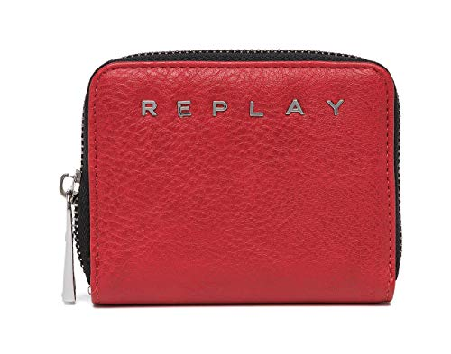 Replay Damen Fw5188.000.a0362 Geldbörse, Rot (Blood Red), 2x8x11 cm