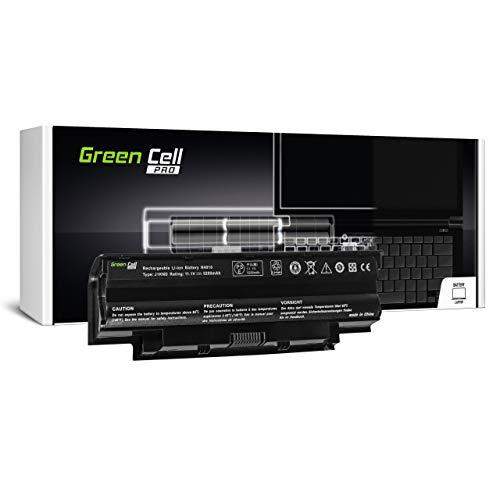 Green Cell PRO 312-1205 312-1206 312-1262 383CW 40Y28 451-11510 4T7JN 4YRJH 5XF44 6P6PN 7XFJJ 8NH55 965Y7 9JR2H 9T48V 9TCXN GK2X6 HHWT1 J1KND Akku für Dell Laptop (5200mAh 11.1V Schwarz)