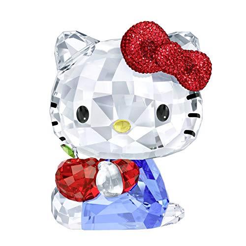 Swarovski Hello Kitty Roter Apfel Kristallfigur, Kristall, Mehrfarbig, 9.6