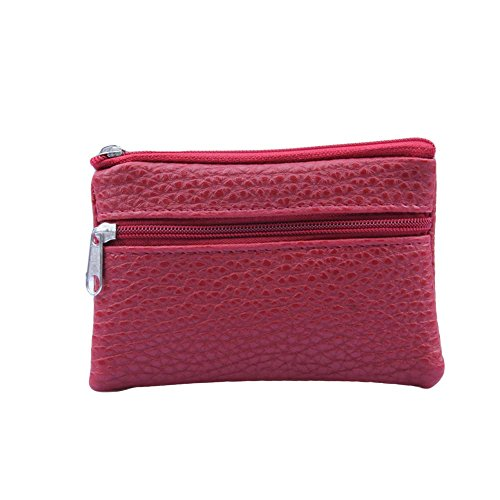 Discover Bargain Toimothcn Women PU Leather Purses Wallet Men Briefcases Multi Functional zipper Coi...